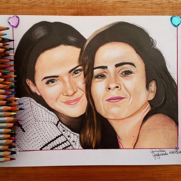 Bruna Marquezine e Tatá Werneck (Foto: Reprodução/Instagram)
