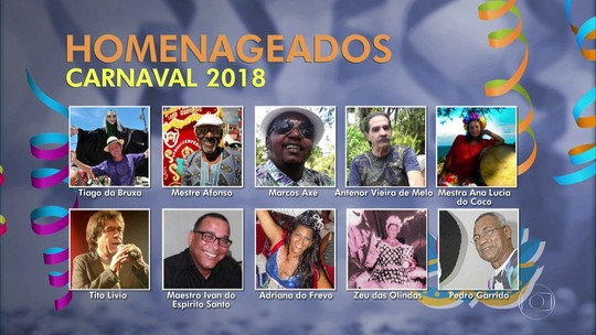 Votação popular escolhe os homenageados do carnaval 2018 de Olinda; veja como participar