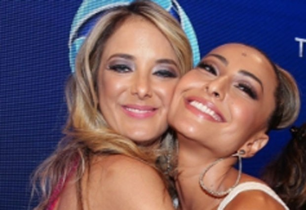 Ticiane Pinheiro e Sabrina Sato (Foto: Photo Rio News)