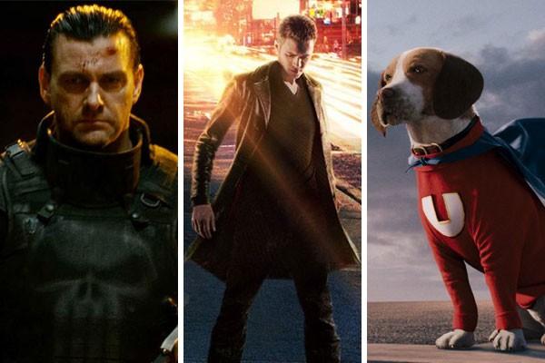 Os heróis de O Justiceiro: Em Zona de Guerra (2008), Jumper (2008) e O Vira-Lata (2007) (Foto: Reprodução)