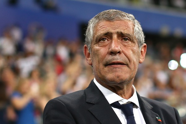 O técnico de Portugal na Copa do Mundo, Fernando Santos (Foto: Getty Images)
