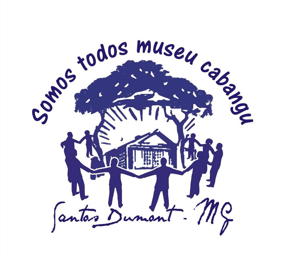 Logomarca da campanha para arrecadar recursos para o Museu de Cabangu em Santos Dumont — Foto: Prefeitura de Santos Dumont/Divulgação