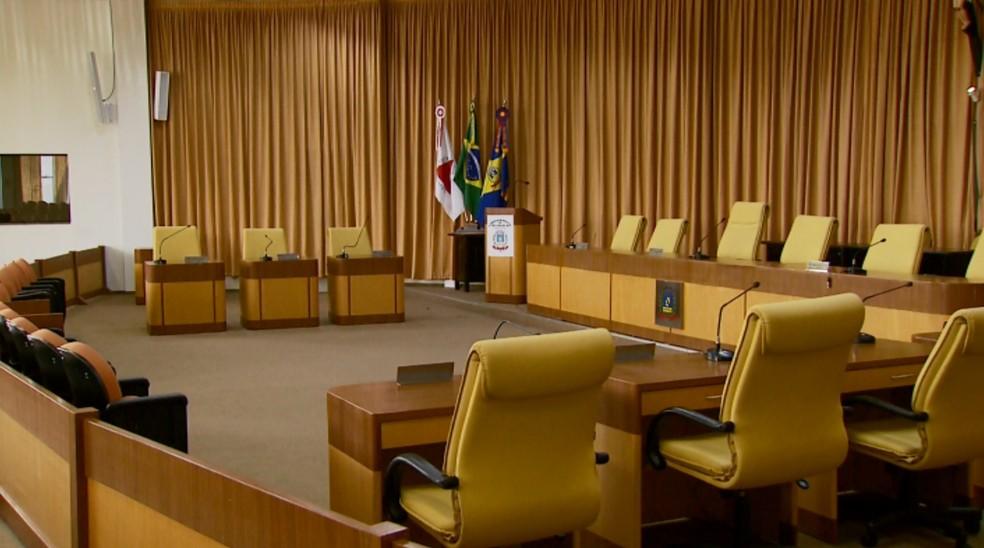 Projeto para doação de terreno para usina está na Câmara de Vereadores (Foto: Reprodução EPTV)