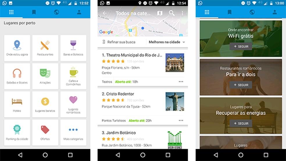 O Kekanto conta com avaliações e opiniões de diferentes usuários, ajudando a escolher os melhores lugares por perto — Foto: Reprodução/Gabriel Santos