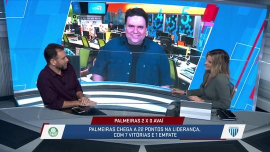 Mesa discute comparação do Palmeiras com o Liverpool, feita por Felipão