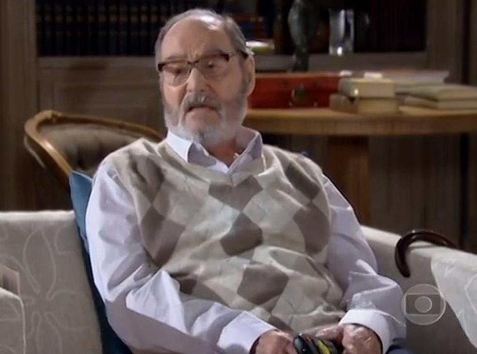 Leonardo Avellar morreu aos 96 anos — Foto: TV Globo