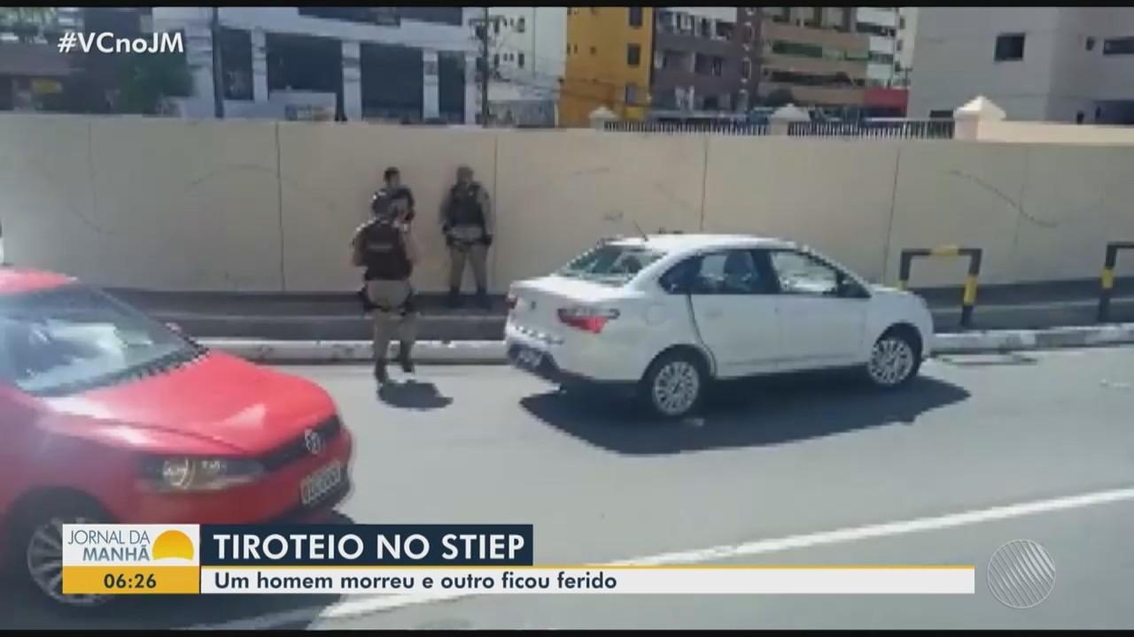 Tiroteio deixa uma pessoa morta e outra ferida no bairro do Stiep, em Salvador