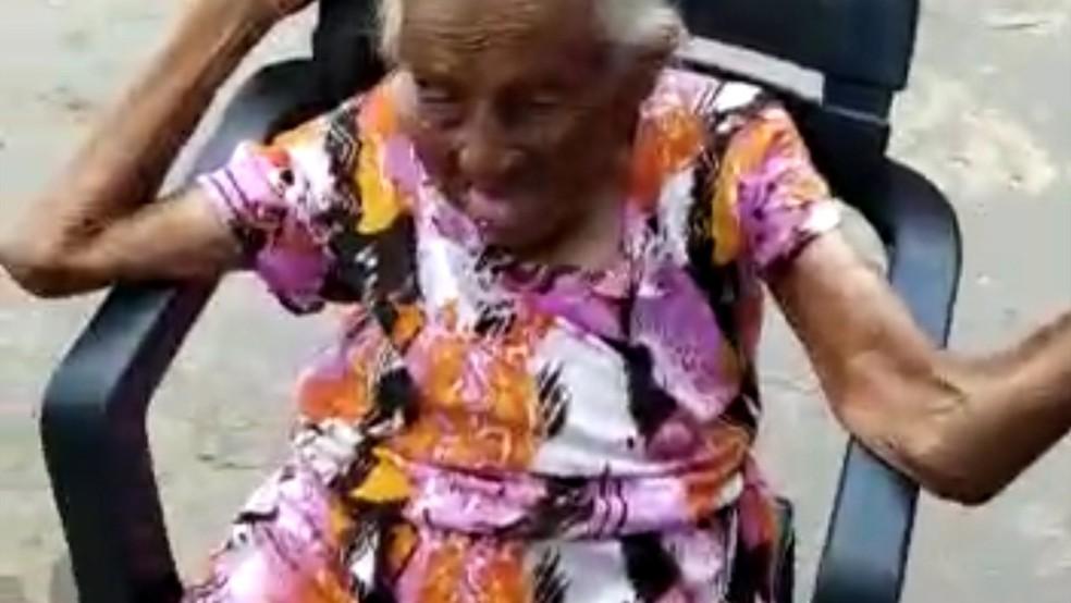 Josefa Maria da Conceição morreu após o seu procedimento de inalação ter sido interrompido em virtude do corte de energia elétrica em Imperatriz. — Foto: Divulgação/Redes Sociais