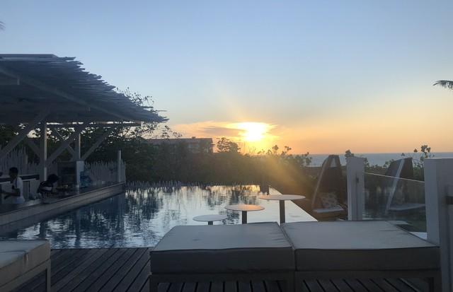 O belíssimo pôr do sol em Jericoacoara (Foto: arquivo pessoal)