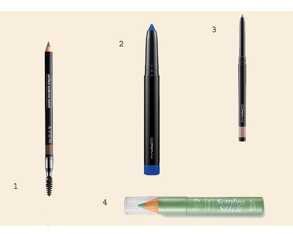 O lápis na versão sombra tem ótima cobertura (Foto: Divulgação)