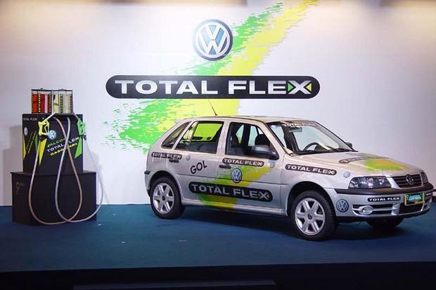 VW Gol Total Flex (Foto:  Divulgação)