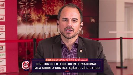 """Rodrigo Caetano explica saída de Odair Hellmann do Internacional: """"Não era desejo de ninguém"""""""
