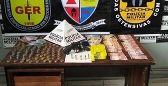 Casal é detido com drogas perto de escola no Bairro Belvedere em Divinópolis - Notícias - Plantão Diário
