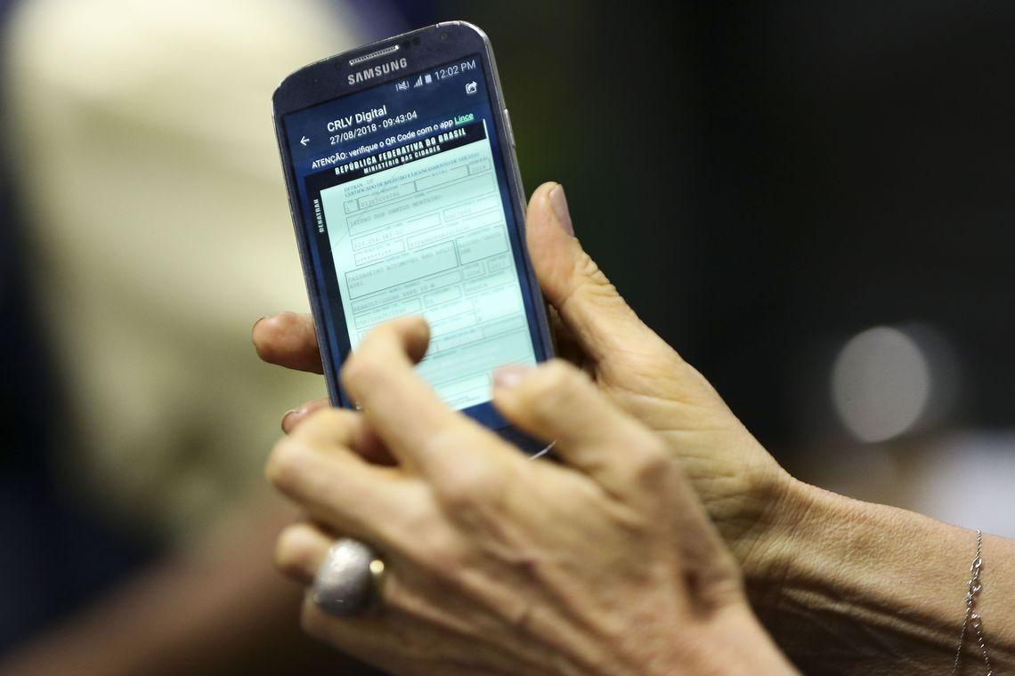 Documentos de veículos ganham versão eletrônica (Foto: Marcelo Camargo/Agência Brasil)