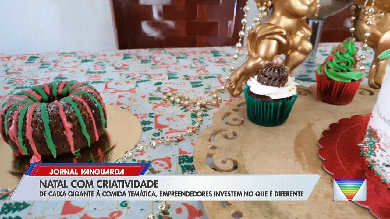 De caixa gigante a comida temática, empreendedores investem no diferente para o Natal