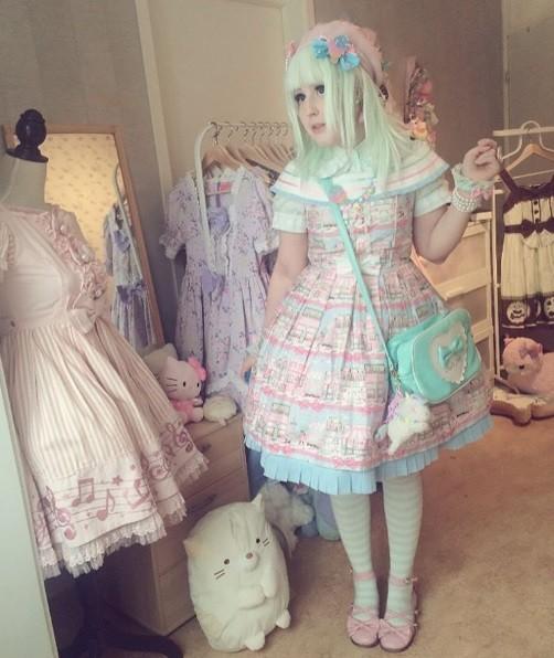 A sueca na sua casa de boneca