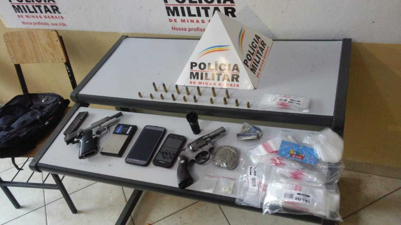 Dois homens são presos suspeitos de tráfico de drogas em Governador Valadares - Notícias - Plantão Diário