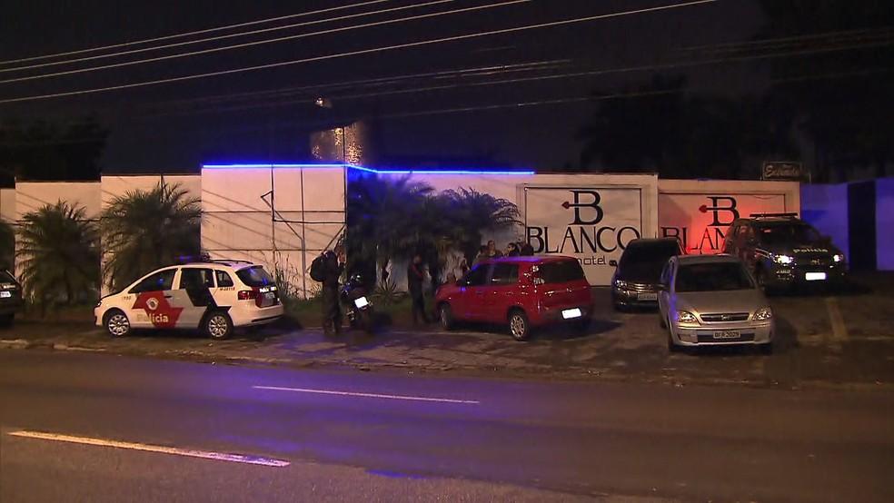 Tráfico de drogas em motel — Foto: Reprodução/TV Globo