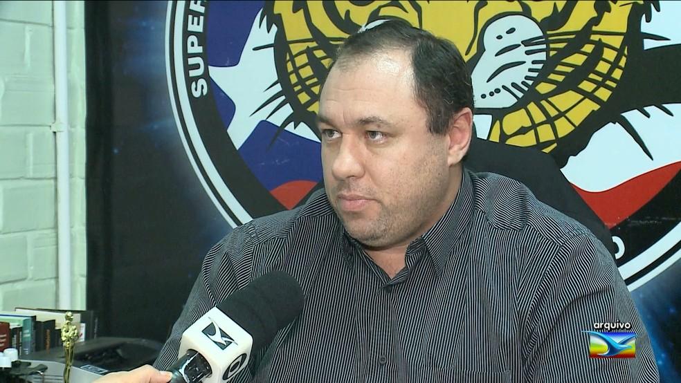 Thiago Bardal era o comandante da Superintendência Estadual de Investigações Criminais (SEIC) (Foto: Arquivo/TV Mirante)