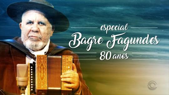 Bagre Fagundes é homenageado pela RBS TV em programa especial