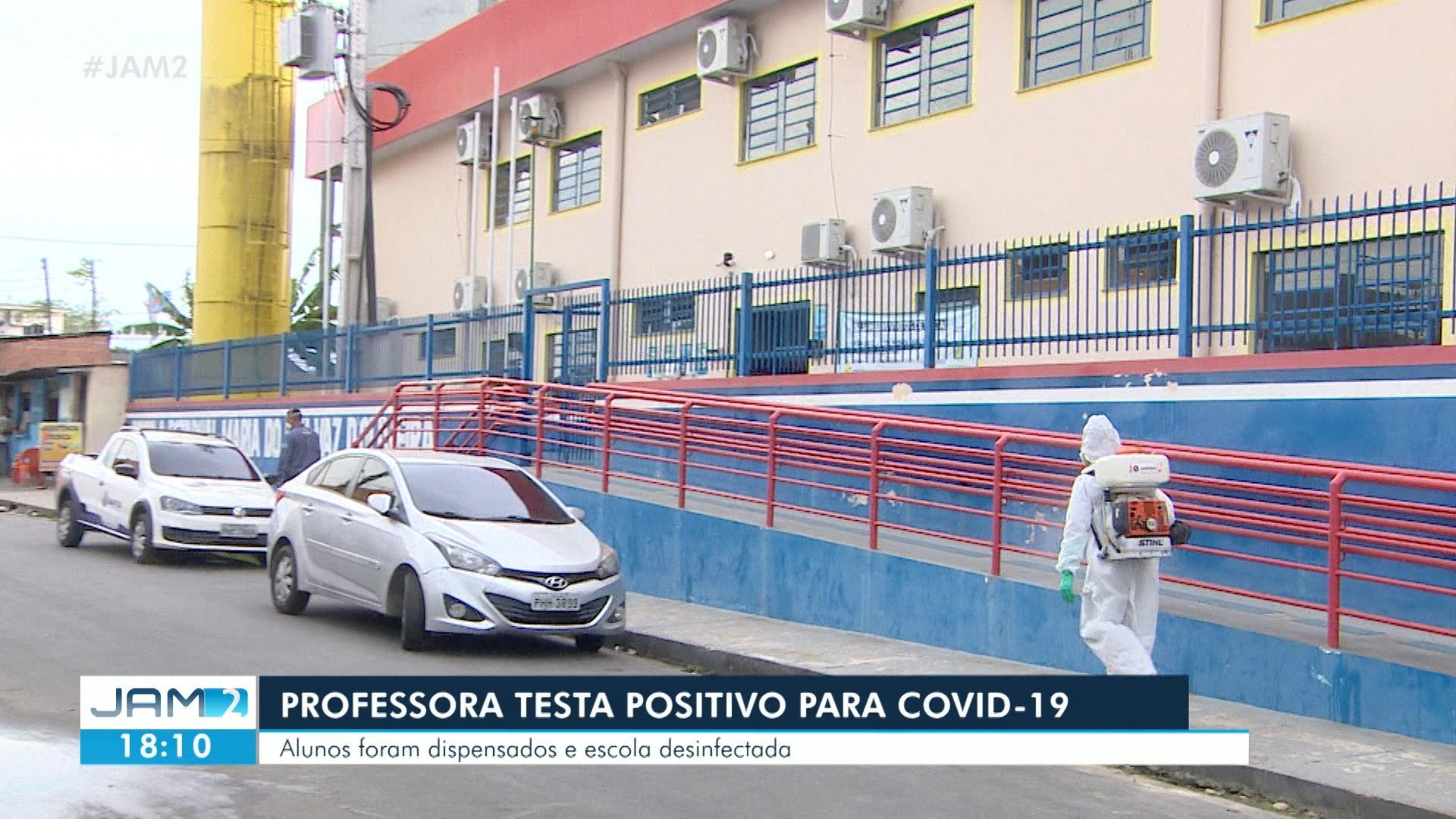 VÍDEOS: Professora testa positivo para Covid-19 em Manaus e escola é esvaziada; veja destaques do JAM 2