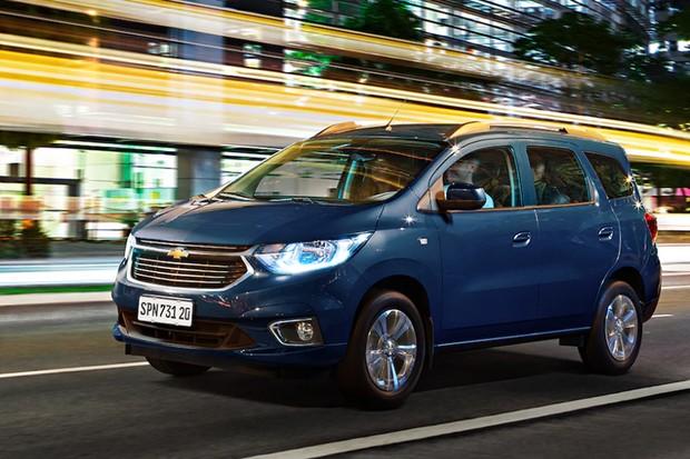 A nova Chevrolet Spin 2020 (Foto: Divulgação)