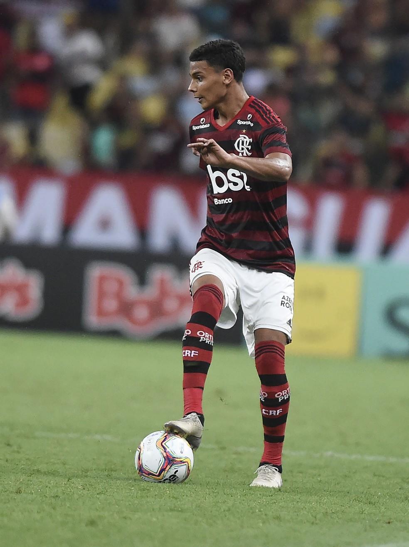 Richard, do Flamengo — Foto: André Durão
