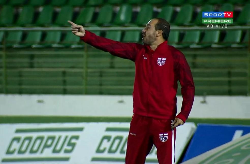 Allan Aal disse que faltou objetividade para o Galo vencer — Foto: Reprodução SporTV