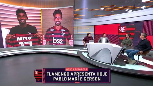 """Caio critica opção por Gerson no Flamengo: """"Está gastando muito e não buscando o que Jesus pediu"""""""