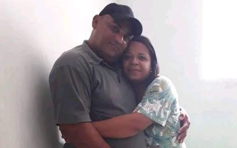 Ana foi morta por Ednaldo, seu companheiro, na Zona da Mata de Pernambuco â?? Foto: Reprodução/WhatsApp