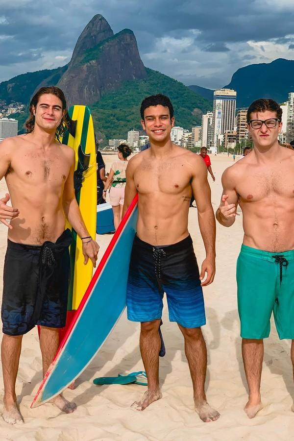 Rafa Vitti, Sérgio Malheiros e Klebber Toledo (Foto: Instagram/Reprodução)
