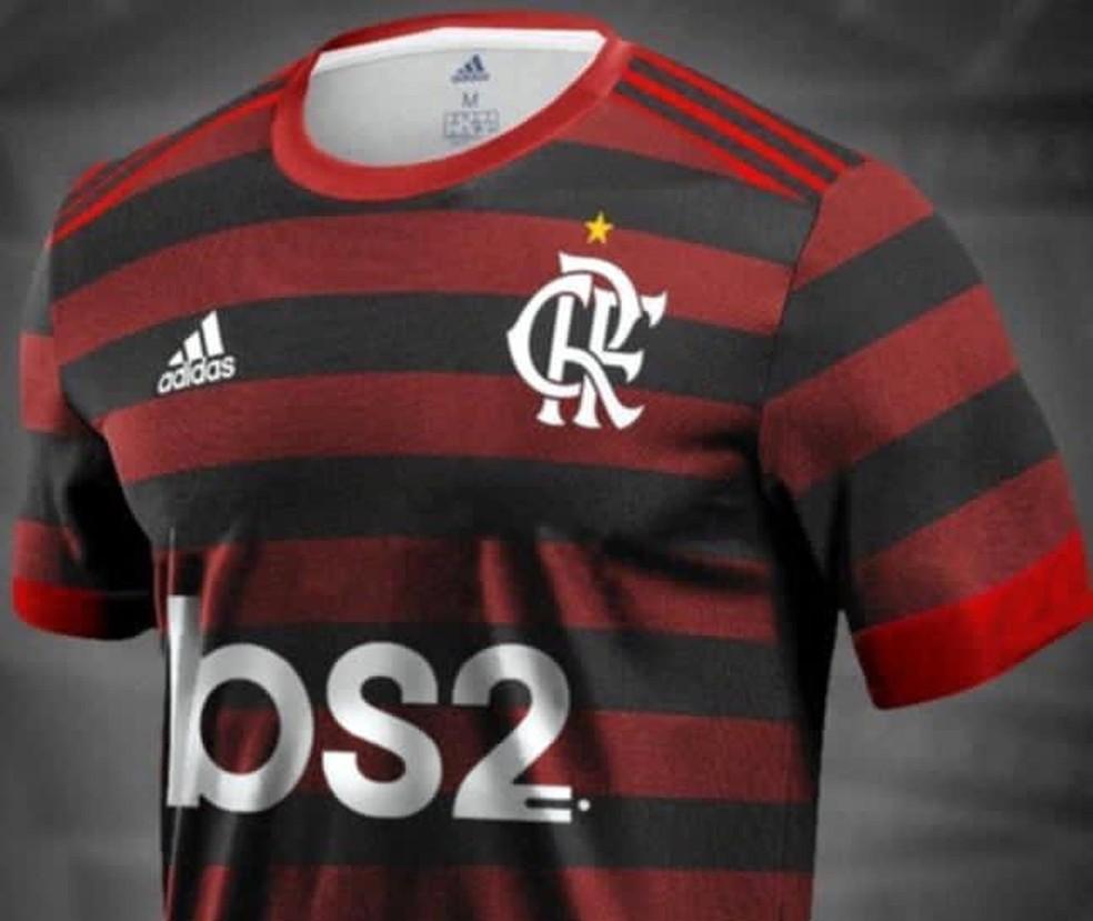 """Flamengo tem mais um ano de contrato com a """"BS2"""". Multa rescisória é de R$ 2 milhões — Foto: Arquivo pessoal"""