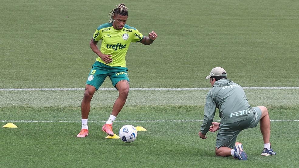 Sem Danilo, veja a provável escalação do Palmeiras para enfrentar a Chapecoense