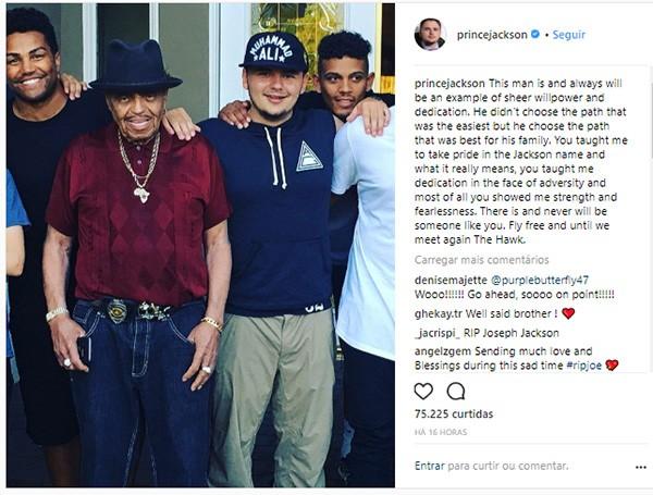 Prince Jackson (Foto: Instagram)