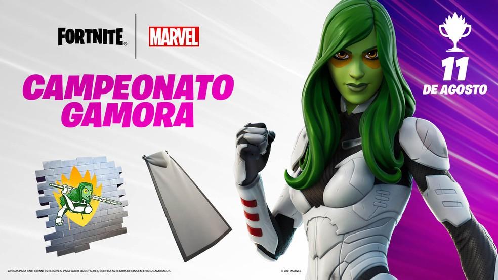 Campeonato da Gamora começará dia 11 de agosto — Foto: Divulgação/Epic Games