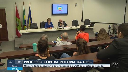 CGU abre processo administrativo contra reitor, vice-reitora e professor da UFSC