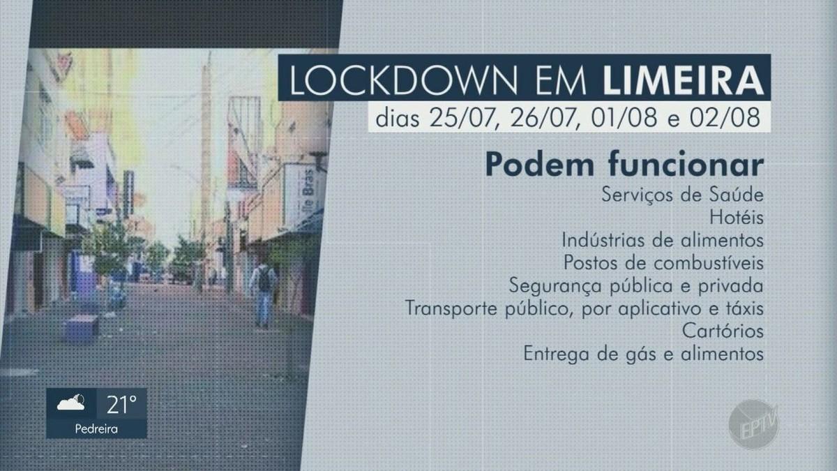 Lockdown em Limeira: Justiça autoriza abertura de mercados e quer 33% dos ônibus circulando – G1