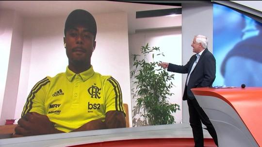 """Bruno Henrique diz que torcida do Flamengo deu show na final e explica identificação: """"Time de povão"""""""