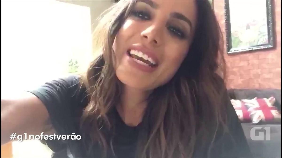 Anitta convida fãs para o Fest Verão Paraíba 2018 e promete 'mega show'