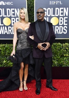 Paige Butcher e Eddie Murphy (Foto: Getty Images)