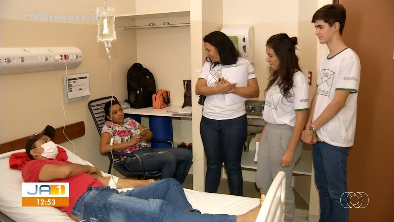 Projeto quer levar esperança para pacientes do HGP através de cartas escritas por estudantes - Notícias - Plantão Diário