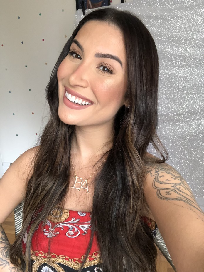 A última selfie de Bianca Andrade — Foto: Arquivo pessoal