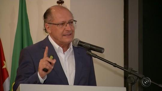 Geraldo Alckmin participa de aula inaugural do curso de medicina da USP em Bauru