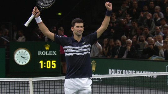Campeão em Paris, Djokovic pode recuperar a liderança do ranking no ATP Finals