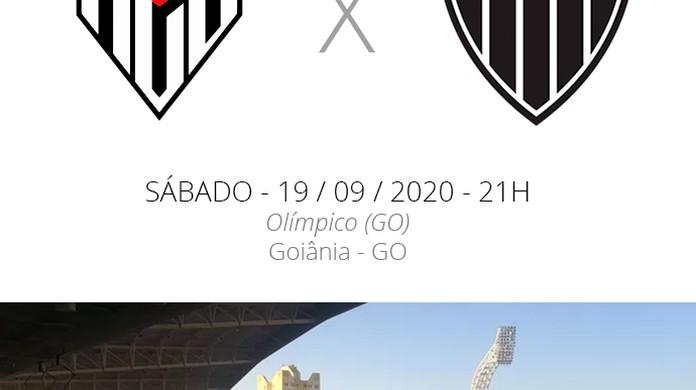 Atletico Go X Atletico Mg Veja Onde Assistir Escalacoes Desfalques E Arbitragem Brasileirao Serie A Ge