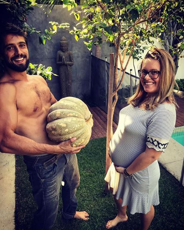 Rafael Cardoso e Mariana Bridi (Foto: Reprodução/Instagram)