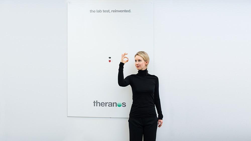 Elizabeth Holmes, fundadora da empresa Theranos (Foto: Divulgação/HBO)