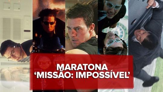 Maratona 'Missão: Impossível': G1 assiste aos 6 filmes, que deixam aventuras de Tom Cruise cada vez mais absurdas