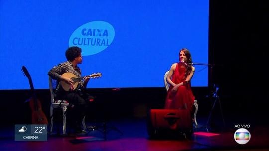 Cantora Roberta Sá se apresenta na Caixa Cultural Recife