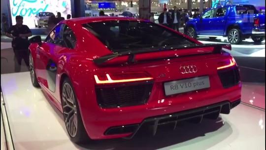 Lançamentos da Audi no Salão de São Paulo somam 2.425 cavalos
